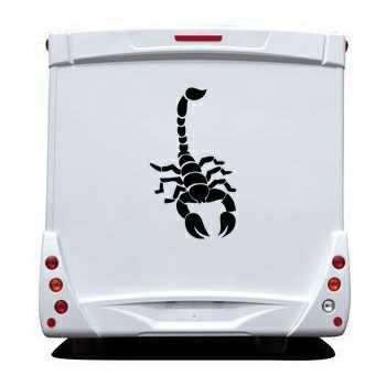 Scorpion Camping Car Decal