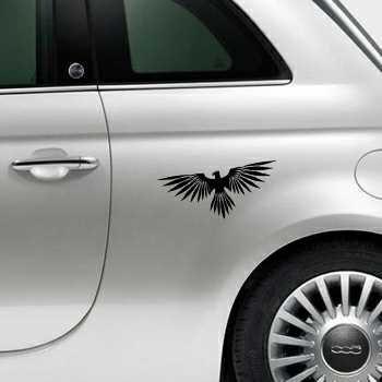 Sticker Fiat 500 Aigle 1
