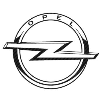 Opel Logo Carbon Decal