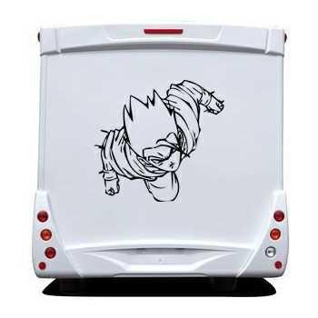 Sticker Camping Car Dragon Ball Z