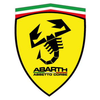 Fiat Abarth assetto corse Ferrari Logo Logo decal