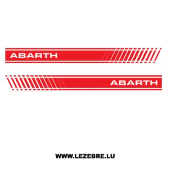 Kit Stickers Fiat ABARTH 500