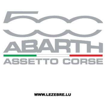 Fiat Abarth 500 Assetto Corse Decal