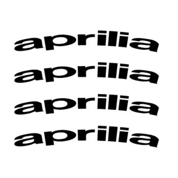 Aprilia rim decals set