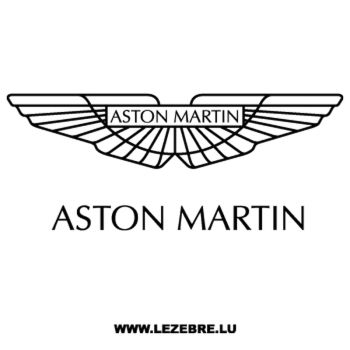 Aston Martin Decal