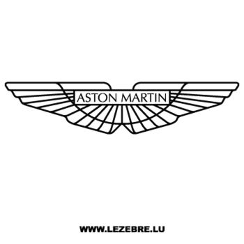 Sticker Aston Martin 2