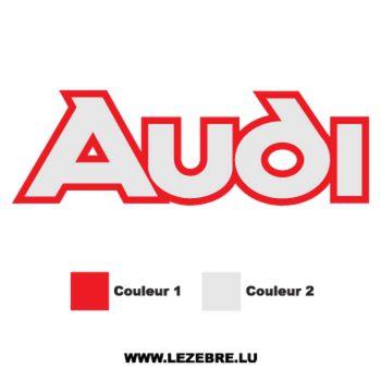 Sticker Audi 2
