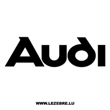 > Sticker Audi 3
