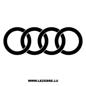 Sticker Audi Logo