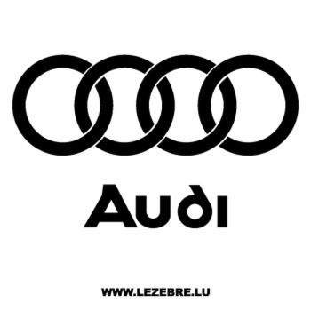 Sticker Audi Logo 2