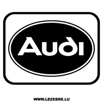 > Sticker Audi Logo 3