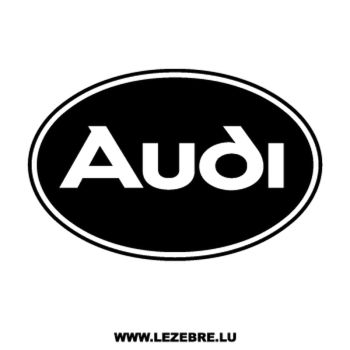 > Sticker Audi Logo 4
