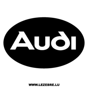 Audi Logo Decal 5
