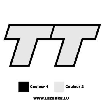 Sticker Audi TT