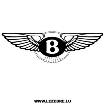 Sticker Bentley Logo