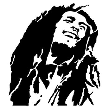 Bob Marley Decal