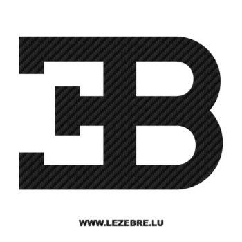 Sticker Carbone Bugatti 2