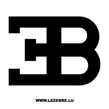 Sticker Bugatti 2