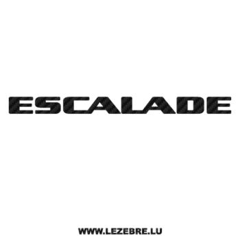 Sticker Carbone Cadillac Escalade