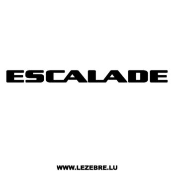 Cadillac Escalade Decal