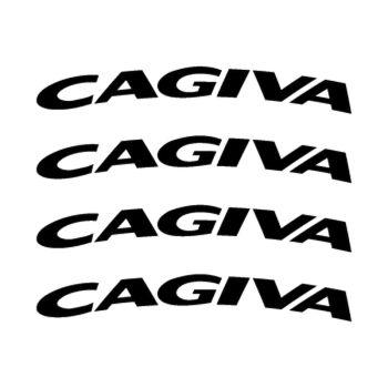 Kit Stickers Jante Moto Cagiva