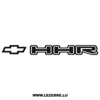 Sticker Karbon Chevrolet HHR