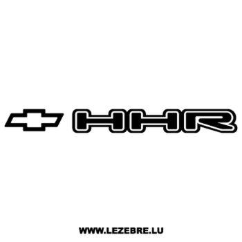 Sticker Chevrolet HHR