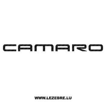 Sticker Karbon Chevrolet Camaro