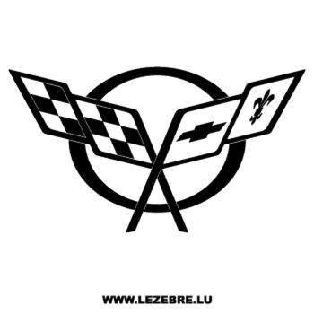 Chevrolet Corvette Logo Decal 2