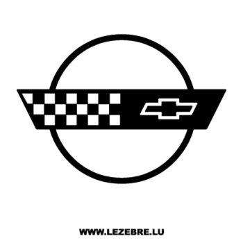 Sticker Chevrolet Corvette Logo 4