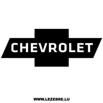 Chevrolet Logo Decal
