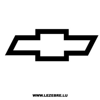Chevrolet logo Decal 2