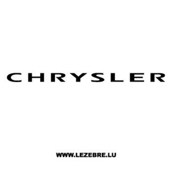 Chrysler Decal