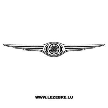 Chrysler Logo Decal 2