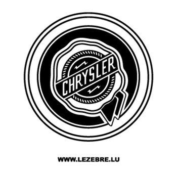 Chrysler Logo Decal 3