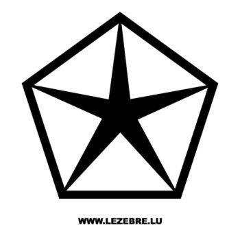Chrysler Logo Decal 4