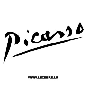Sticker Citroën Picasso