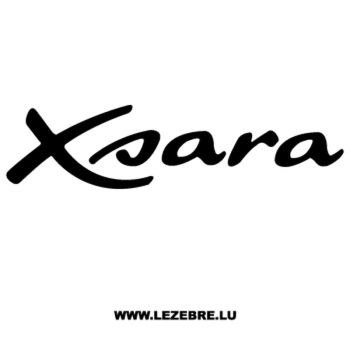 Sticker Citroën Xsara