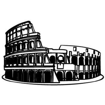 Sticker Colosseum de Rome