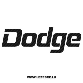 Dodge Carbon Decal 2