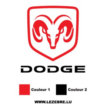 Dodge Logo Decal