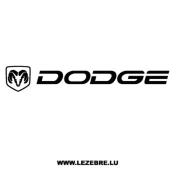 Dodge Logo Decal 3