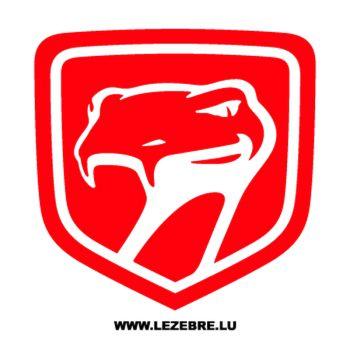 Dodge Viper Logo Decal 2