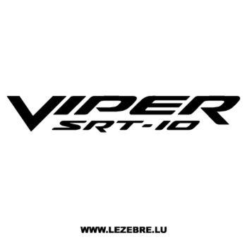 Dodge Viper SRT-10 Decal