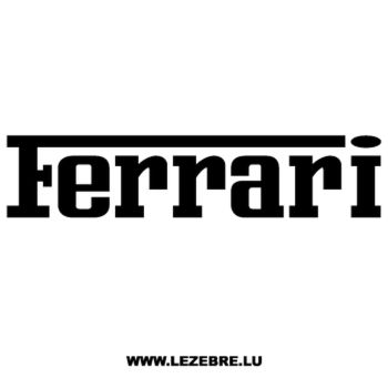 Ferrari Logo Decal 3