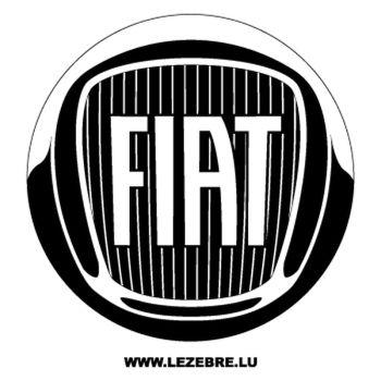 Fiat Logo Decal 2