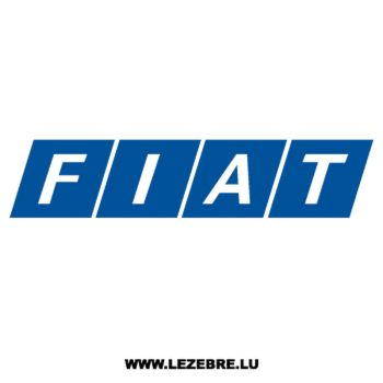 Old Fiat Logo Decal