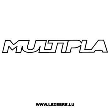 Fiat Multipla Decal