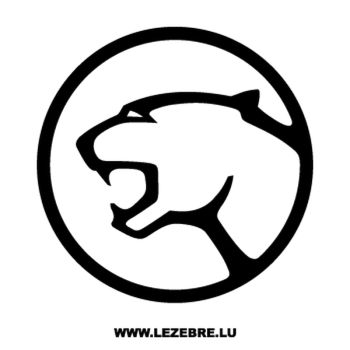 Sticker Ford Cougar