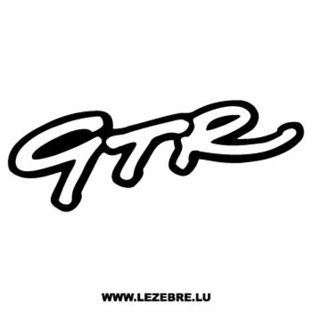 GTR Decal